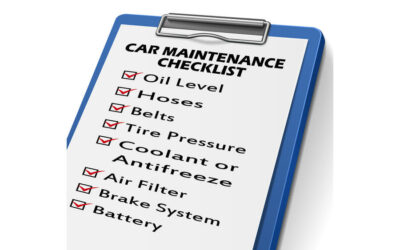 Have a Glance at the Maintenance Checklist before To Booking Your Vehicle