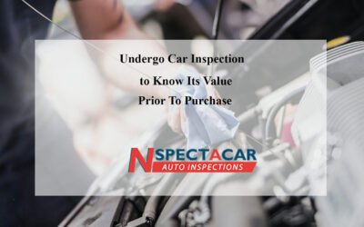 Undergo Car Inspection to Know Its Value Prior To Purchase