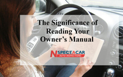 The significance of reading your owner's manual